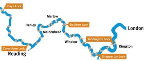 river thames map of locks thames at high levels teddington middlesex uk