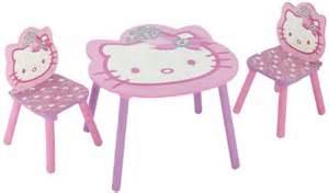 table et chaise enfant hello
