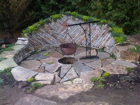 Firepit Landscaping Cool Pit Ideas Exterior Decoration How To Use Glass Portable Endearing Backyard