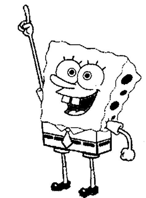 spongebob squarepants coloring pages cartoon coloring pages