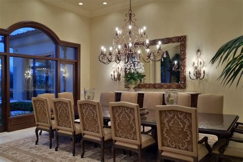 Houzz Dining Room by Traditional Lighting Design San Diego Traditional