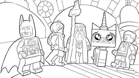 lego underwater coloring pages emmet batman e os personagens de aventura lego o filme