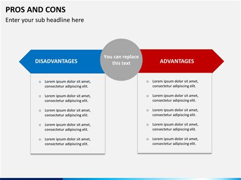 pros and cons of slide in ranges versus cooktop and oven pros and cons powerpoint template sketchbubble