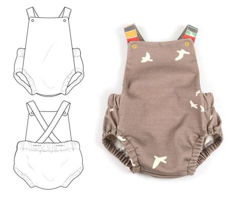 jumpsuit pattern for baby best 25 baby romper pattern ideas on pinterest baby