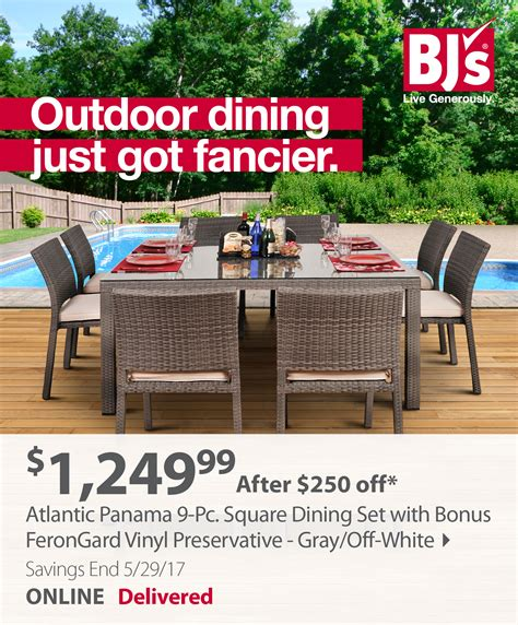 bjs wholesale club save on outdoor furniture swing sets
