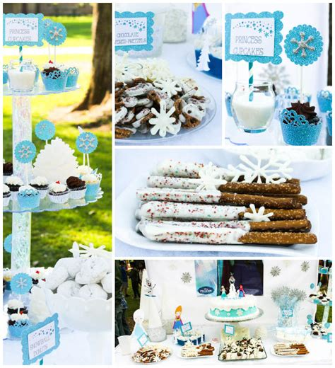cupcake themed party games kara s party ideas frozen themed birthday party via kara s