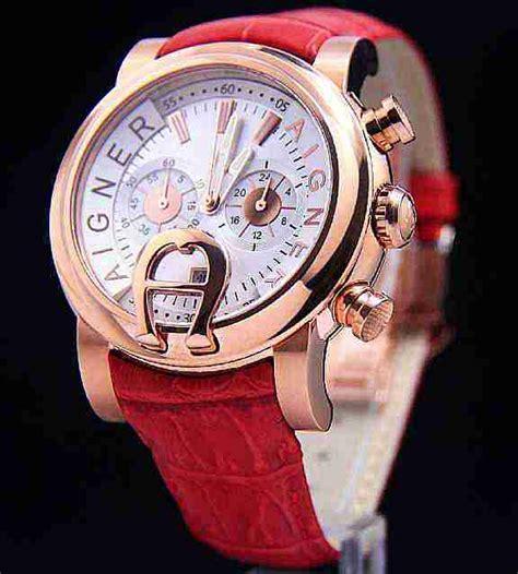 Aigner Bari Rantai Black Gold jam tangan aigner bari kw pria seri bm6232 tali kulit