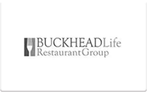 Buckhead Life Restaurant Gift Card - buy buckhead life restaurant group gift cards raise