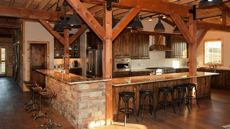Open Concept Floor Plans For Small Homes barn wood home great plains gambrel barn home project