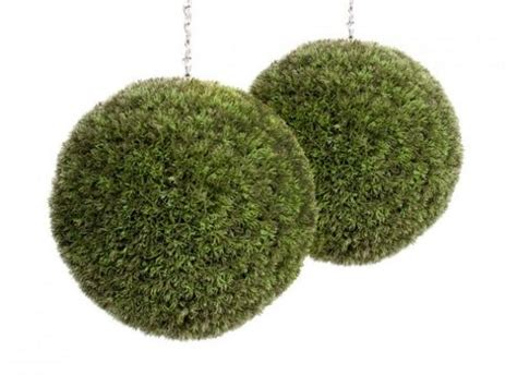 40cm topiary balls buy artificial 40cm diameter melon grass topiary x 2