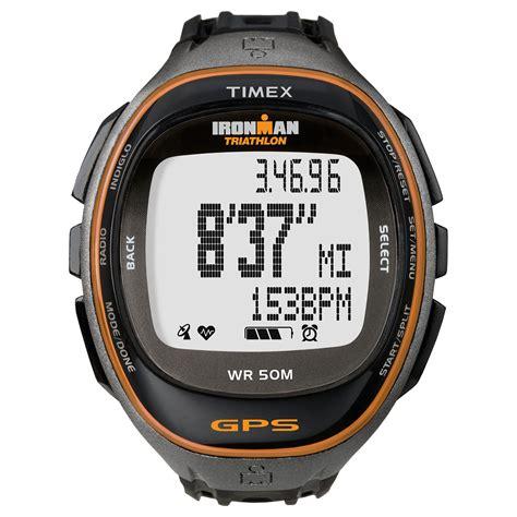 timex t5k549 mens run trainer gps sweatband