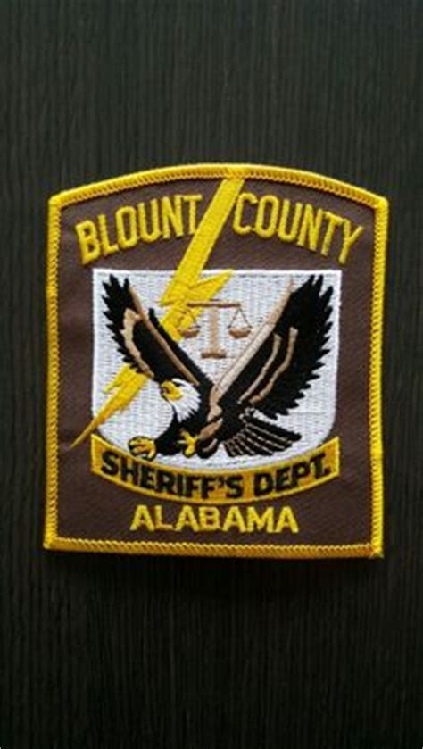 Blount County Sheriff S Office Alabama by 1000 Images About Alabama State Patches On