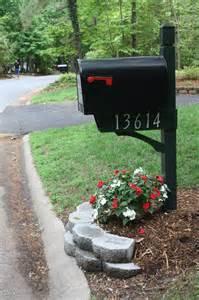 mailbox landscaping mailbox landscape decorating