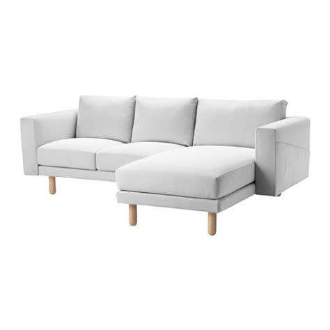 ikea white sectional norsborg sectional 3 seat finnsta white birch ikea