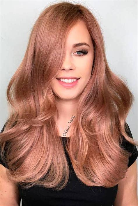 gold hair color trend 18 gold hair color trends fryzury cor