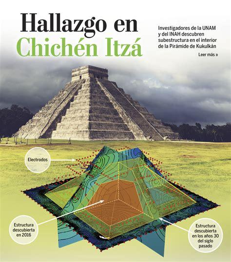 Floorplan by Older Mayan Pyramid Detected Within Chich 233 N Itz 225