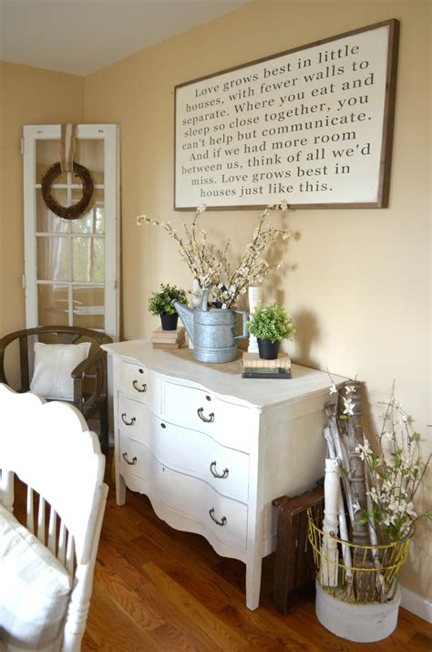 farmhouse style dining room grows best in houses sign vintage nest