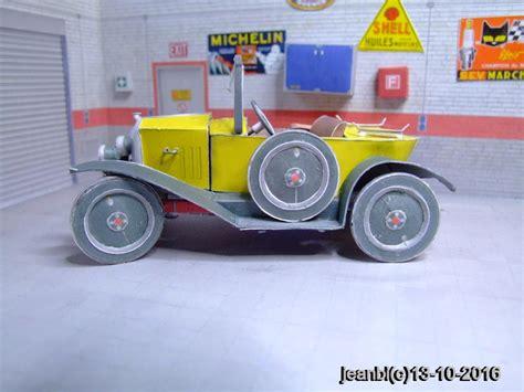 Hp Papercraft - la citro 235 n 5 hp type c quot torp 233 do quot de 1921 en papercraft