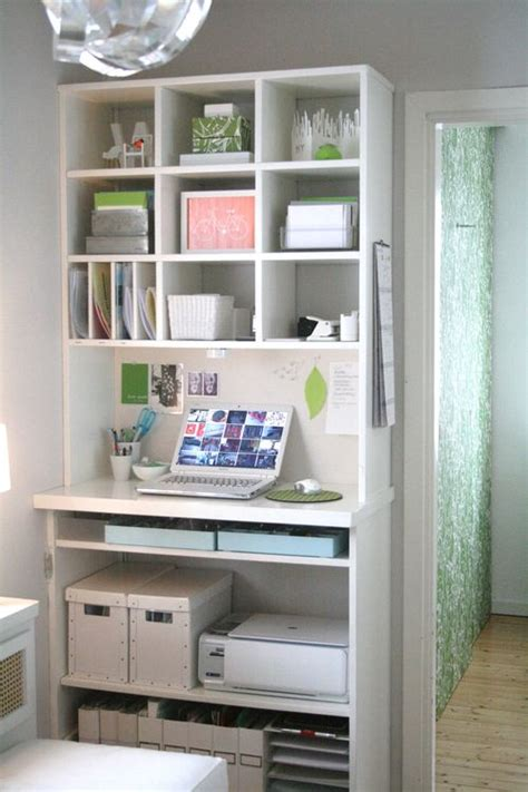 Home Decor Solutions Carve Out A Tiny Office Space