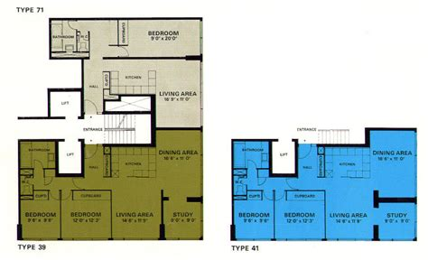 c foster housing floor plans gallery of ad classics the barbican estate chamberlin