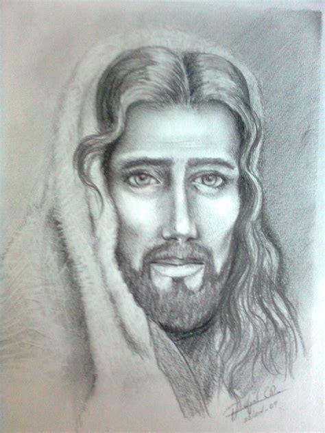 jesucristo imagenes a lapiz dibujos a lapiz de cristo imagui