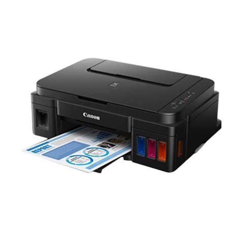 Printer Canon Pixma G2000 Asli Dan Bergaransi jual canon pixma g2000 multifunction inkjet printer harga kualitas terjamin blibli