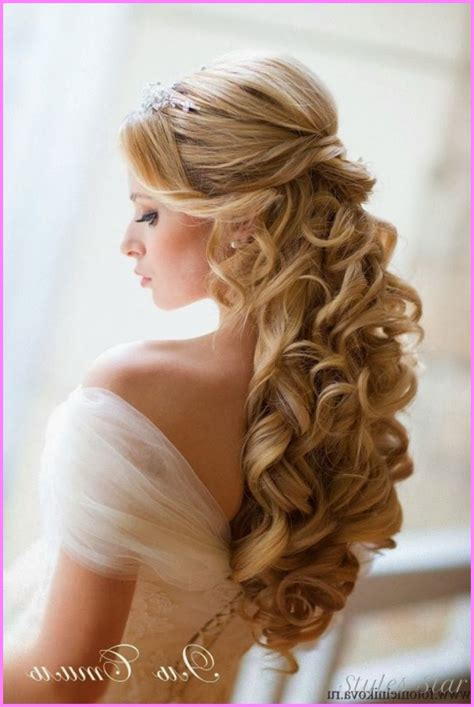Wedding Bridesmaid Hairstyles Half Up by Bridesmaid Hairstyles Half Up Half Stylesstar