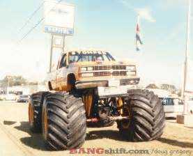 old monster truck videos bangshift com monster truck action