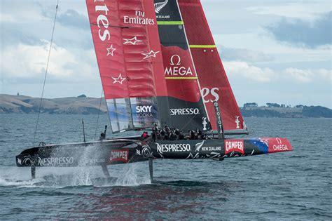 america s cup catamaran dimensions emirates team new zealand ac 72 dimension yacht engineering