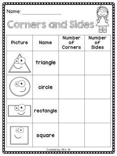 shape pattern worksheets year 1 image result for 2d shape sort cut and paste free