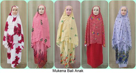 Tempat Baju Kaos Pakian Mukena Sarung Jilbab Celana Dasi Dll grosiran mukena bali anak terbaru murah meriah 47ribuan