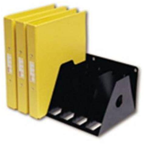 3 Ring Binder Rack rotadex a4 ringbinder filing rack black