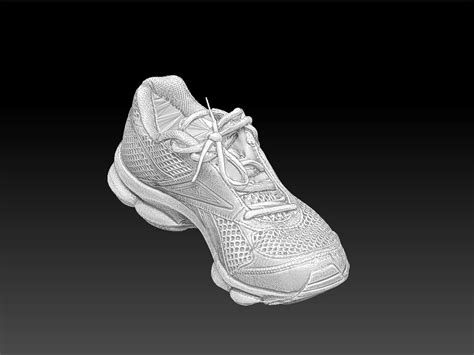 Sport Shoes Model 3017 scan reebok sports shoe 3d model