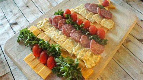 amazing crackers amazing cheese cracker and sausage tree