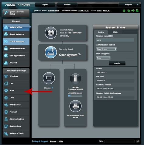Asus Routers how to port forward an asus router support no ip