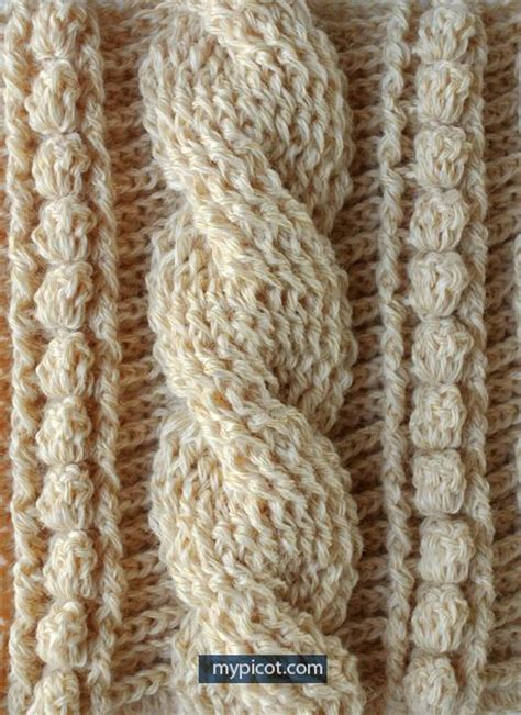 knitting cables tutorial the 25 best crochet cable ideas on crochet