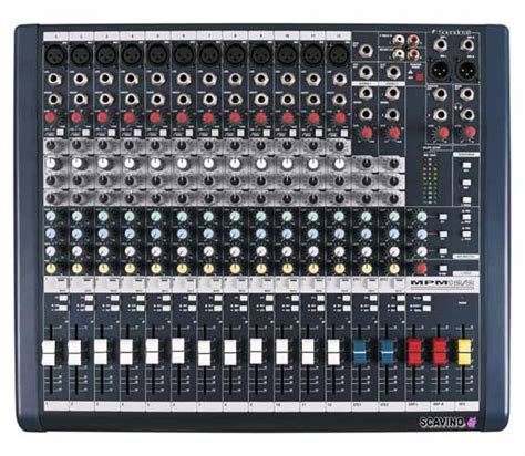 Mixer Soundcraft Mpm 24 mixer soundcraft mpm12 mixer soundcraft mpm 12 mixer