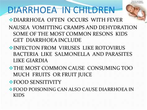 diarrhoea def