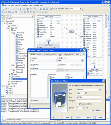 database design for manufacturing microolap database designer for postgresql an easy and