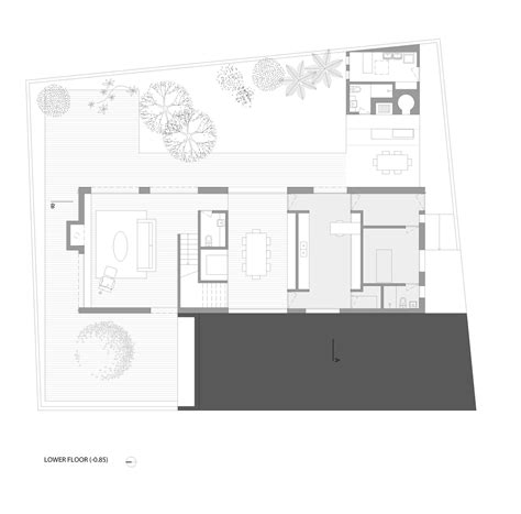 floor plans for patio homes galeria de casa dos p 225 tios ar arquitetos 23