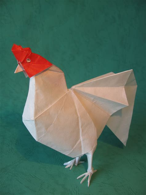 Origami Rooster - rooster yoo tae yong by mariano27 august 2016 origami
