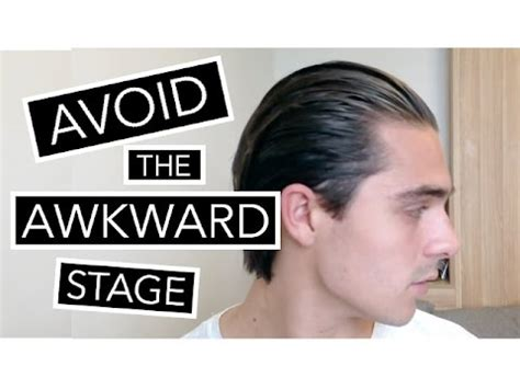 mens hair growing inbetween stege how to style your hair during the awkward stage growing