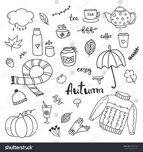 how to create elements in doodle set doodle elements about stock vector