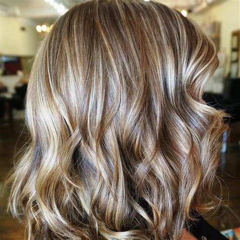 blonde hair with feathered low lights on ends balayage 40 ideas of gray and silver highlights on brown hair