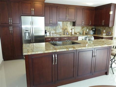 Refinish Kitchen Cabinet Doors Stained Maple Kitchen Cabinets Granit Countertop