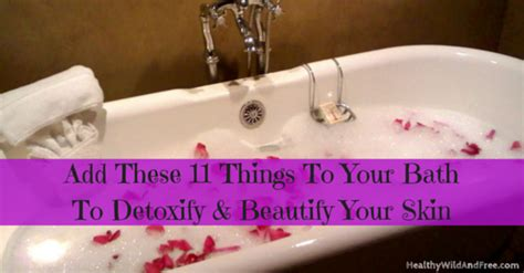 Things To Add To Your Bath by Add These 11 Things To Your Bath To Detox And Beautify