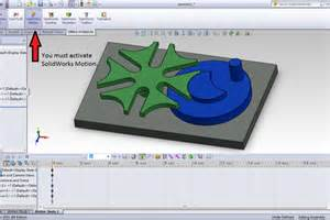 tutorial solidworks motion study tutorial how to animate a model with contact analysis