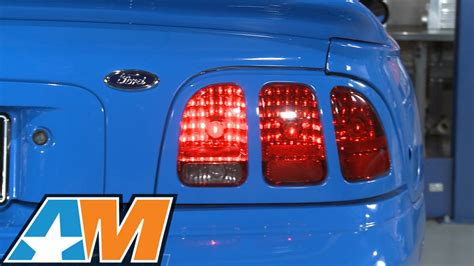 03 mustang sequential tail lights ford mustang tail lights sequential iron blog