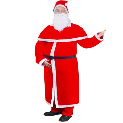Set Santa vidaxl co uk santa claus costume robe set