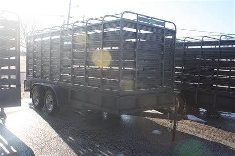used boat trailers in ct used 2015 slide in cattle racks for a utility trailer